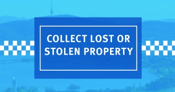 Collect lost or stolen property